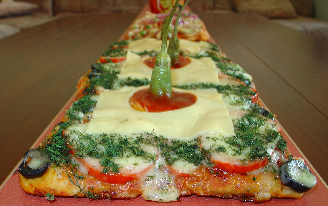 pizza la metru chilli
