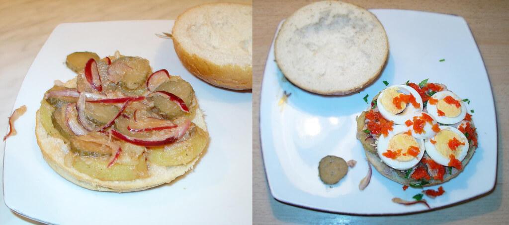 2-sandwich cu ton