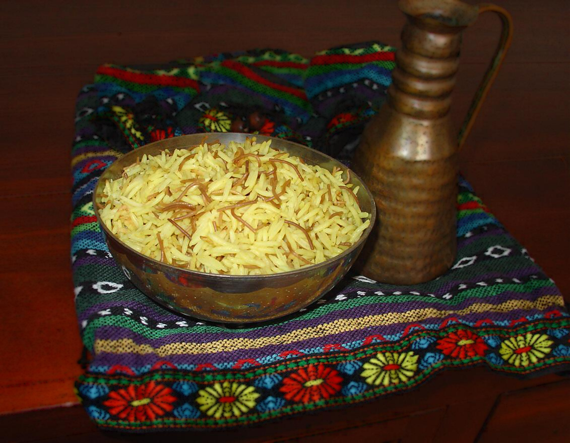 1-Garnitura din orez cu fidea prajita