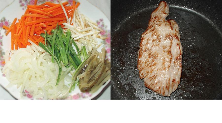 2-Cotlet de manzat cu sos de legume-balsamic