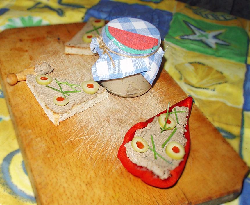 4-Pate de pui homemade
