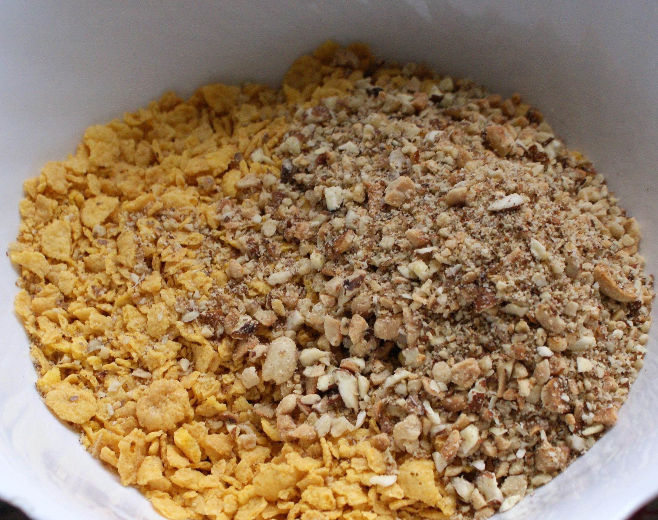 Prajitura cu fulgi din cereale