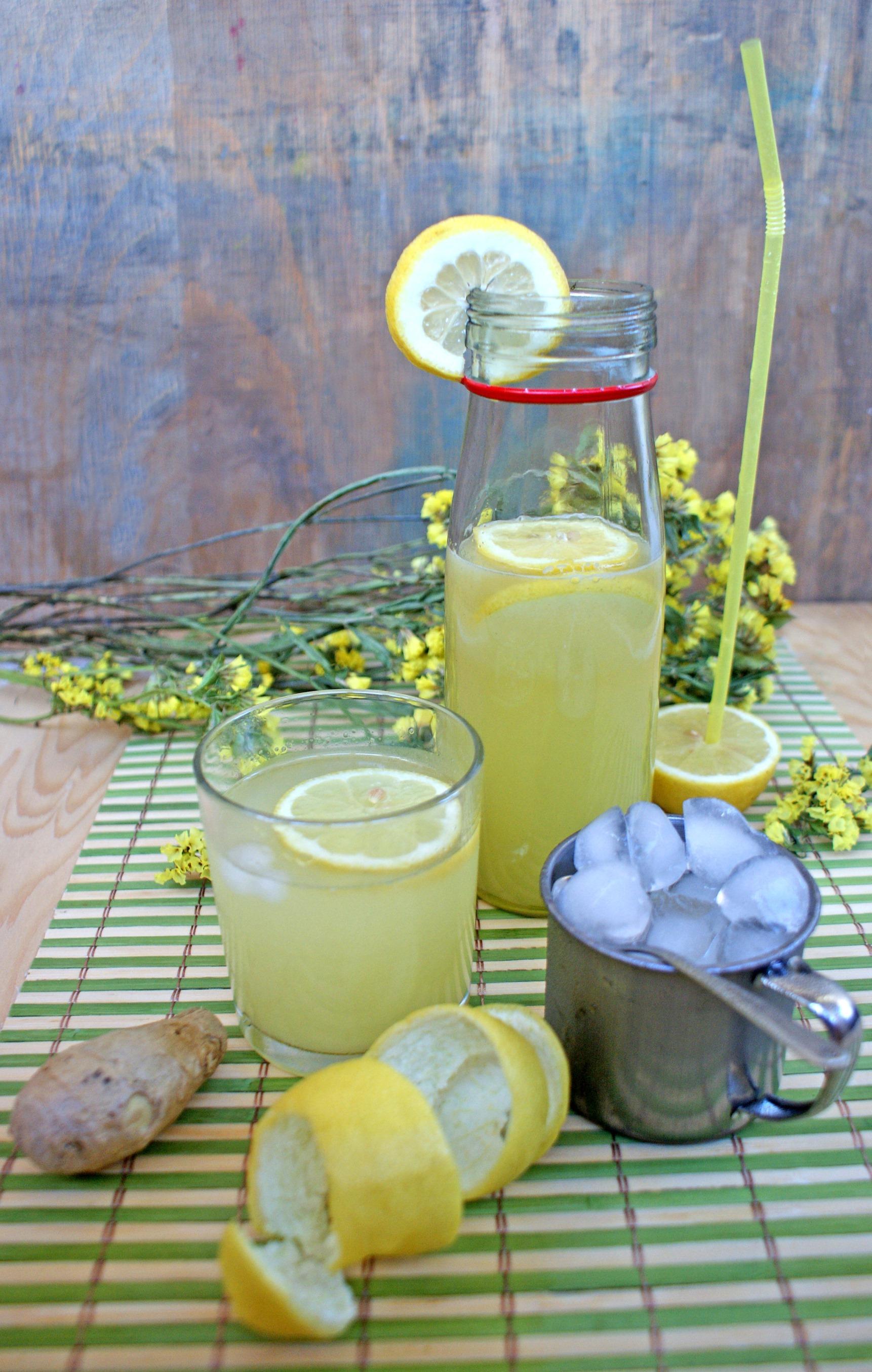 Limonada cu ghimbir