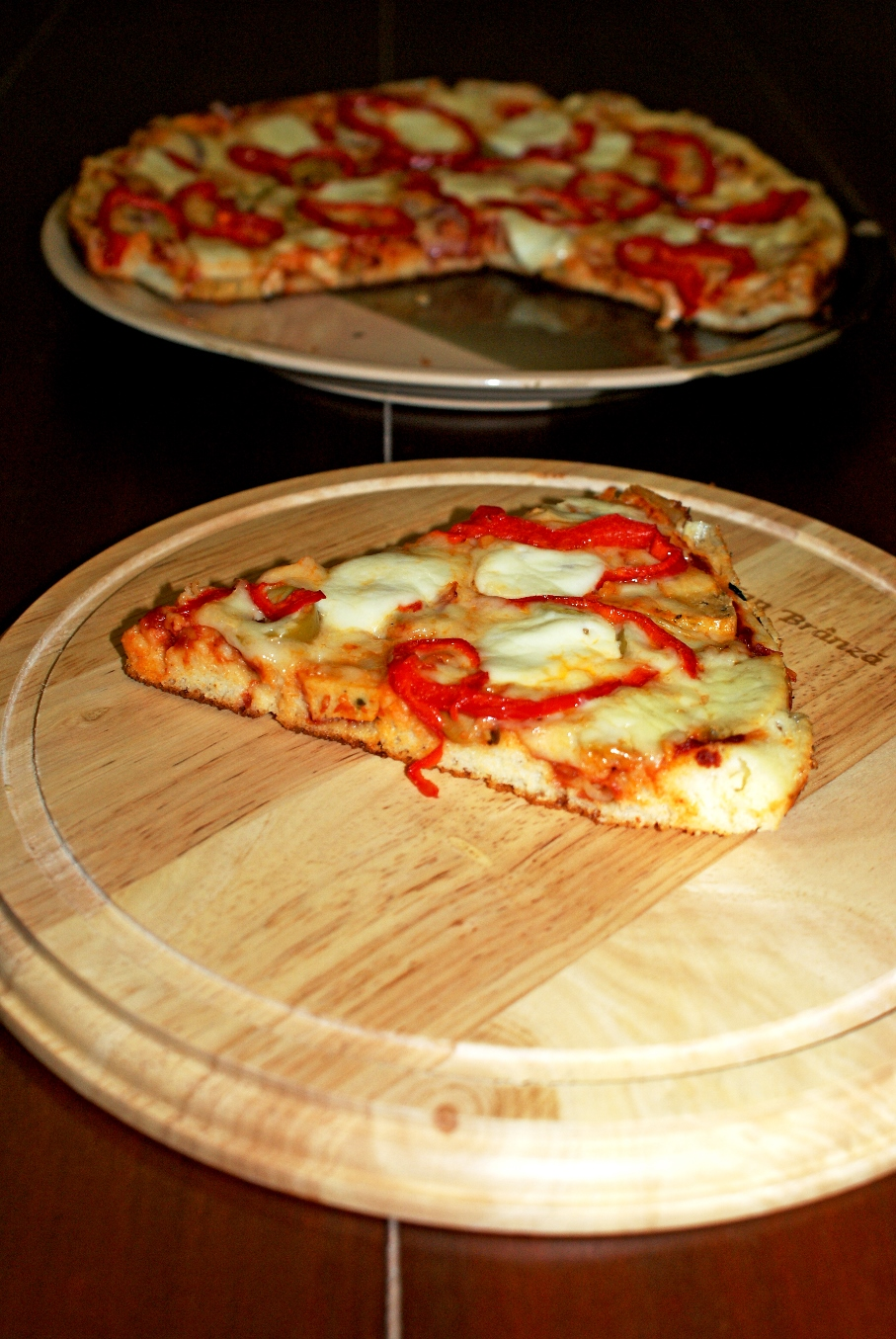 Pizza rapida la tigaie
