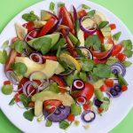 Salata cu untisor si avocado