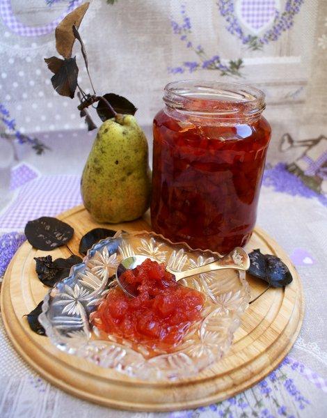 dulceata de gutui si pere tomnatice