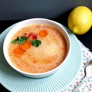 Supa de linte rosie