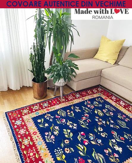 Covoare autentice din vechime > Made-with-love-Romania-Shop