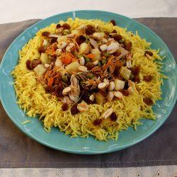 Biryani, pui cu orez si legume, reteta din Orient