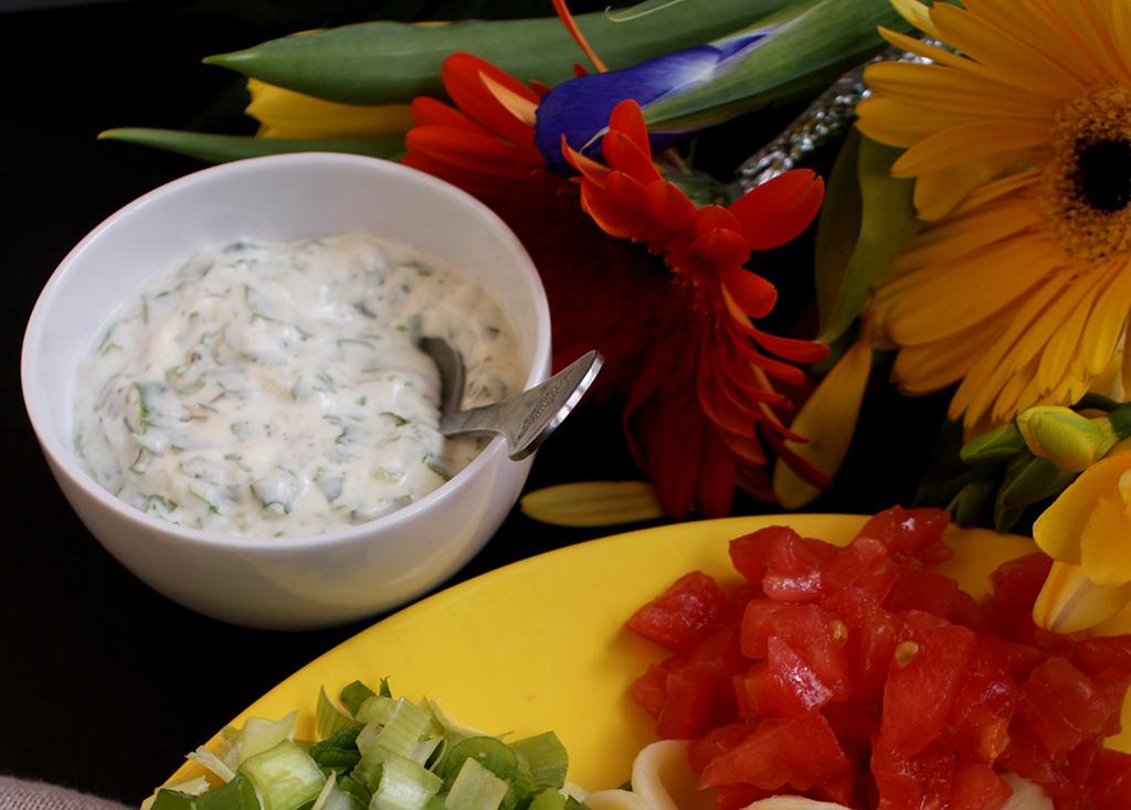 Ranch - Dressing pentru salata cu iaurt